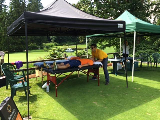 Body Works Golf treatment