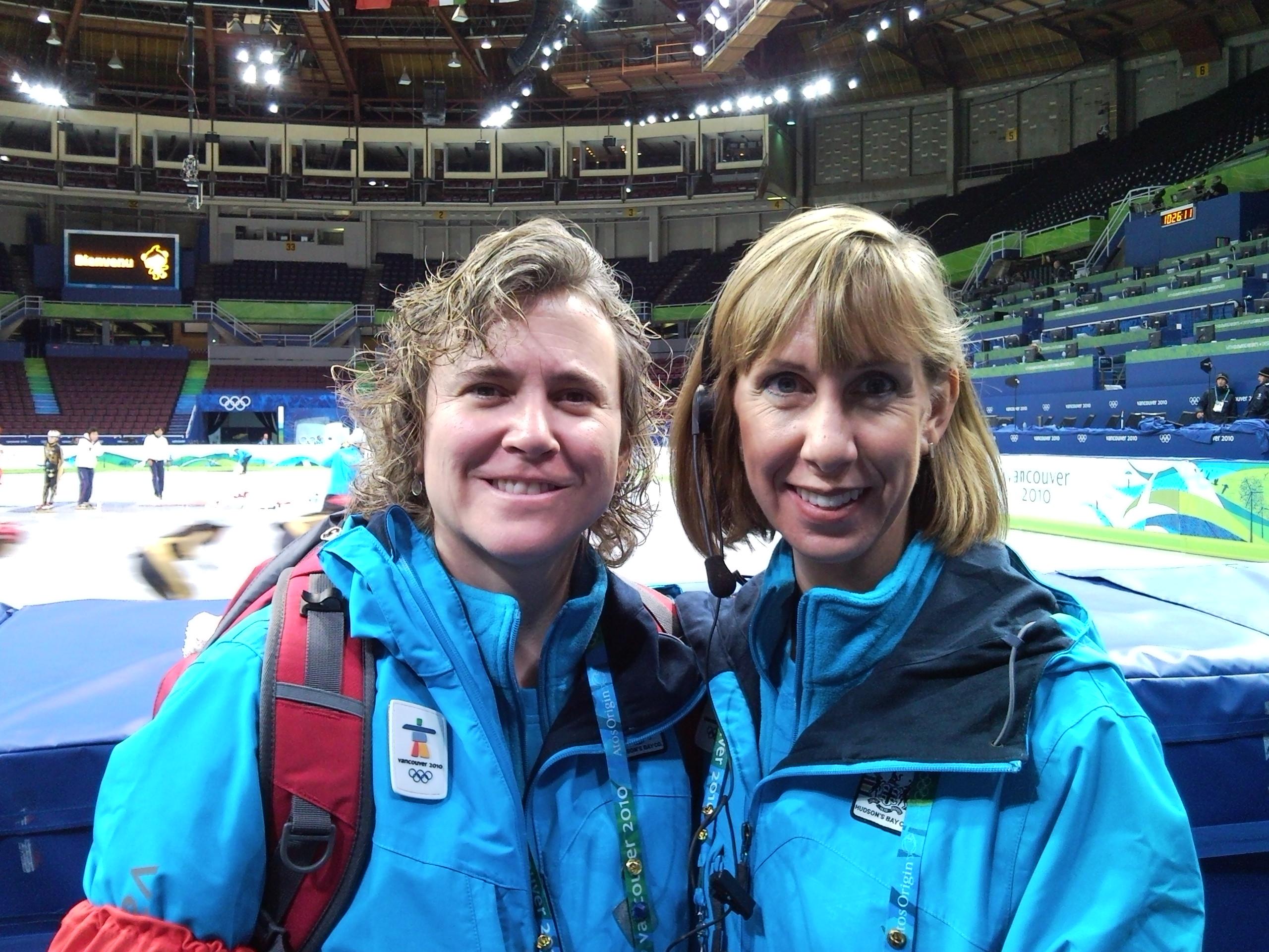 Dana works at 2010 Olympics - Body Works