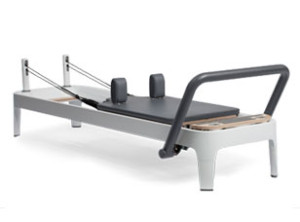 Our pilates reformer which we will use to help show you core strengthening and rehabilitative exercises.