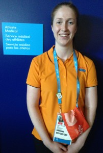 Taylor McCabe at Pan Am Games 2015 Toronto