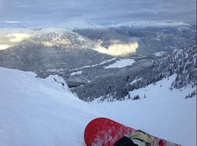 Alex Skiing Whistler 2016