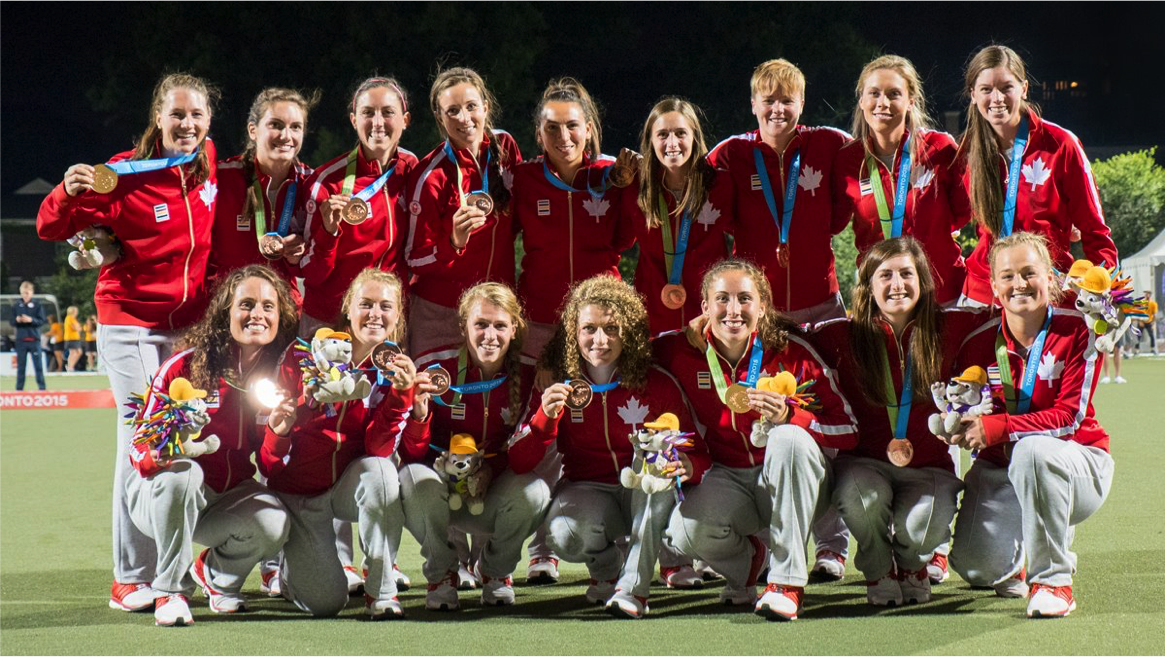 Field Hockey Canada Team Photo at Pan Am Games