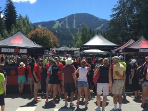 IronMan Finish Line Whistler July 2016