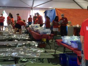 Ironman Medical Tent inside July 2016